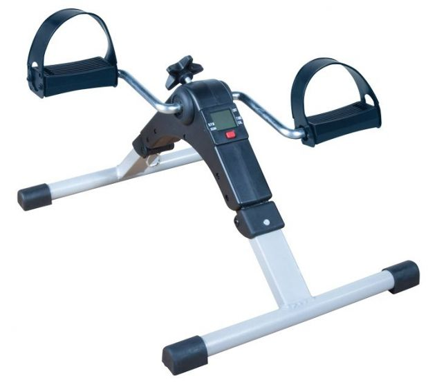Deluxe Folding Exercise Peddler with Electronic Display