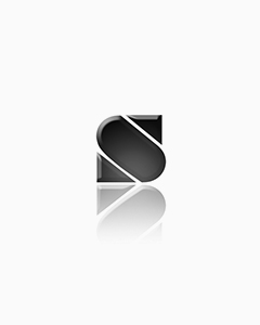 TIDI 3-Ply Tissue Patient Exam Gown - Blue