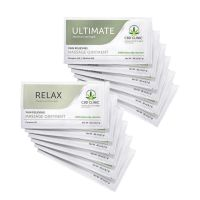 CBD CLINIC™ Massage Samples - 6 Ultimate  & 6 Relax Samples