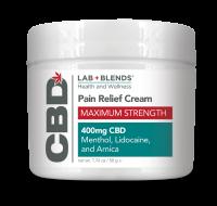 Lab Blends™ CBD Massage Cream - 7.2 oz