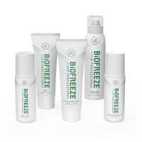 Biofreeze® Professional Buy 10 Colorless Tubes, 10 Regular Tubes, 18 360° Sprays GET 10 Mix FREE