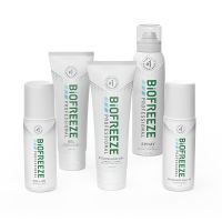 Biofreeze® Professional Buy 10 Tubes, 10 360° Sprays, and 18 Colorless Tubes Get 10 Mix Free
