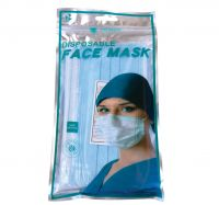 Disposable 3 Ply Mask – 5 Packs of 10