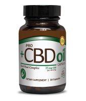 Pro CBD Oil™ Capsules 25 mg 30 Ct