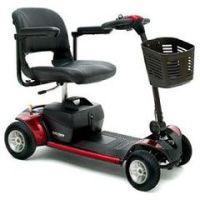 Go-Go Elite Traveller 4 Wheel Mobility Scooter | FDA Class II Medical Device* - Each