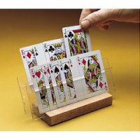 Playing Card Two Slot Holder