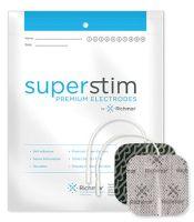 RichMar Super Stim Cloth Electrodes with Silver Matrix 4/Pack