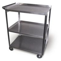 Stainless Steel Cart Model Mc311 - 3 Shelf With Handle