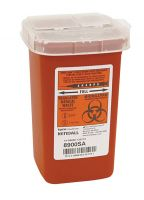 Sage Slim Biohazard Containers