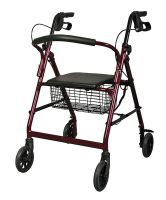 Freedom Rollator - Burgundy