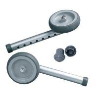 """Single Fixed Wheel Attachment W/Rear Glide Tips,5"""""""
