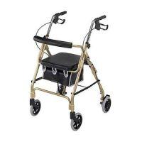 Ultra Lightweight Aluminum 4 Wheeled Rollator