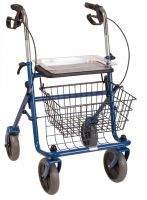 Traditional Steel Rollator - Blue