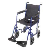 Ultra Light Weight Aluminum Transport Chair