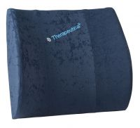 Therapeutica Molded Lumbar Support Cushion Blue