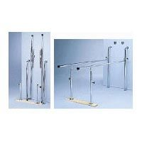 Wall Mount 7' Folding Parallel Bars