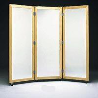 3-Way Posture Mirror W/ Casters
