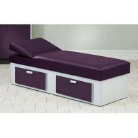 Clinton Apron Couch With 2 Drawers & Adj Wedge