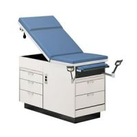 Hausmann Exam Table With Multi Right Hand Drawers