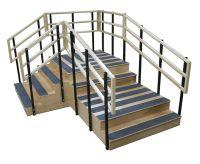 """Bariatric Training Stairs-78"""" X 104"""""""