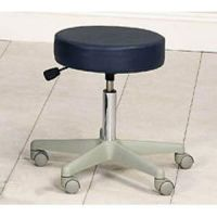 "Adjustable Stool With Foot Ring 19.5""-24.5""H"