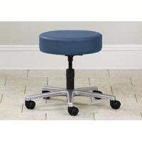 Five Leg Stool With Backrest