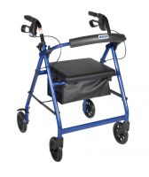 Drive Aluminum Rollator Walker with Seat